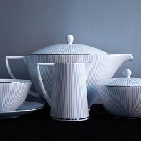 Wedgwood Pinstripe servies