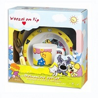 Woezel en Pip kinderservies